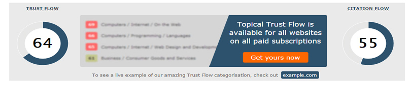trust flow majestic