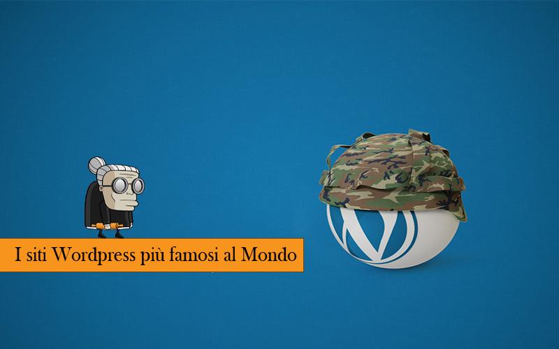 siti wordpress più famosi al mondo